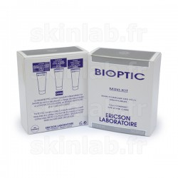Mini-Kit Bioptic D686 comprenant D687 Lifting Micro-Collagène D688 Masque Anti-Poches D689 Fluide Anti-Cernes Ericson Laboratoir