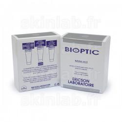 Mini-Kit Bioptic D686 comprenant D687 Lifting Micro-Collagène D688 Masque Anti-Poches D689 Fluide Anti-Cernes Ericson Laboratoir