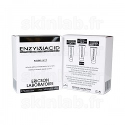 Mini-Kit Enzymacid D916 comprenant D917 Dermaxid Face Peeling D918 Sérum 70-10 D919 Whitefluid Protection - 3 Tubes