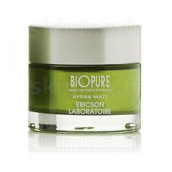 Hydra Matt BIOPURE E843 Ericson Laboratoire - Crème matifiante - Pot 50ml
