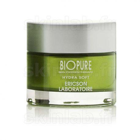 Hydra Soft BIOPURE E844 Ericson Laboratoire - Crème hydratante - Pot 50ml