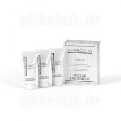 Mini-Kit Perfection D669 comprenant D670 Melano-Clear + D671 Matt-perfect + D672 Melano-Repair Ericson Laboratoire - 3 Tubes
