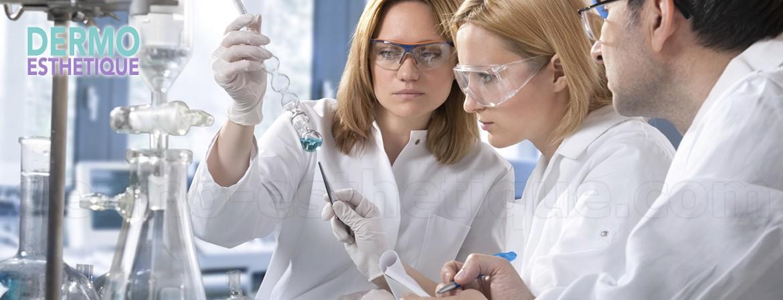 La production, réalisée par 8 Laboratoires Français, permet une mise sur le marché de produits de soins aux formules uniques, développées dans des unités de recherches spécialisées.